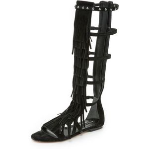 🆕 Alice + Olivia Paula Fringe Gladiator Sandal
